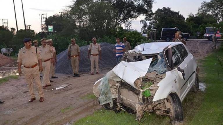 india rape case car crash
