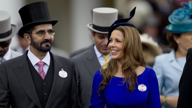 Dubai ruler's wife seeks protection order in English court
