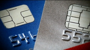 Credit cards are seen in this undated file image.