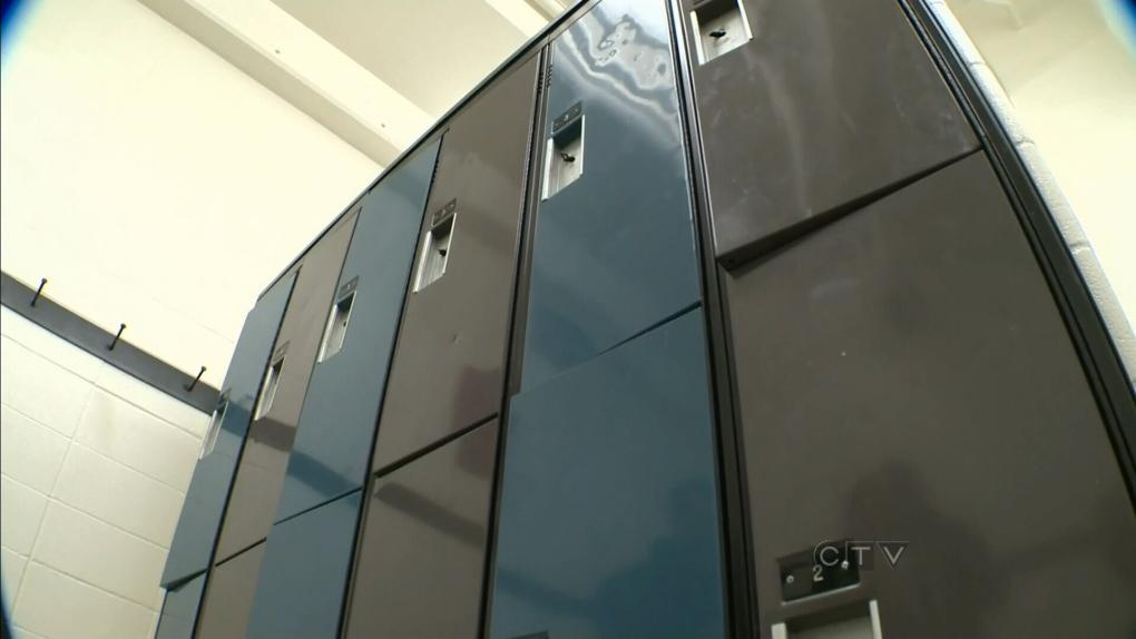 Gym locker file image