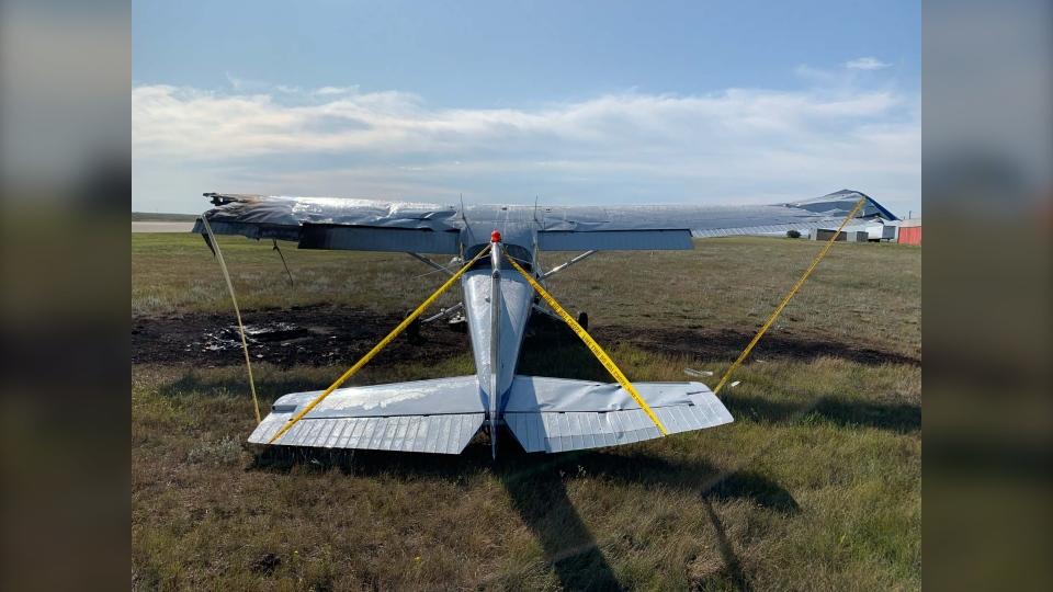 Hanna plane crash