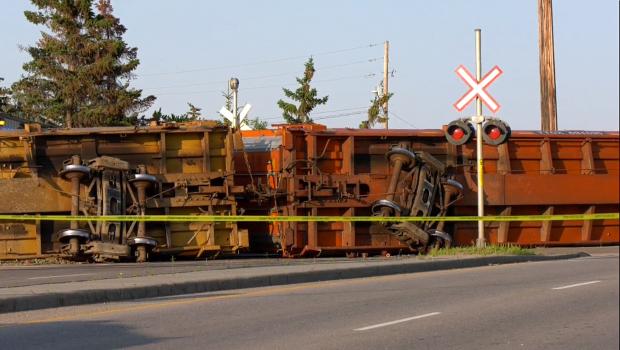 Emergency crews respond to train derailment in southeast