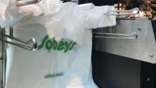 Sobeys plastic bag