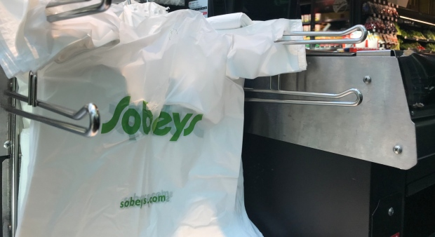 Sobeys to end plastic bags at its grocery stores by 2020