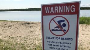 Public Health Sudbury & Districts issued a swimming advisory Thursday for Gore Bay Beach, Maple Ridge Sandy Beach, Mindemoya Public Beach No. 1, and Monument Road Beach, all on Manitoulin Island. (File)