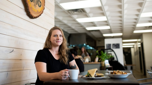 Owner and chef Melanie Boudens