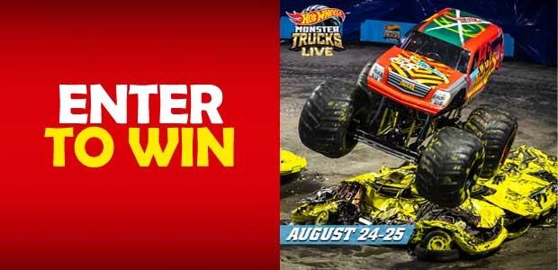Hot Wheels Monster Trucks Live Banner