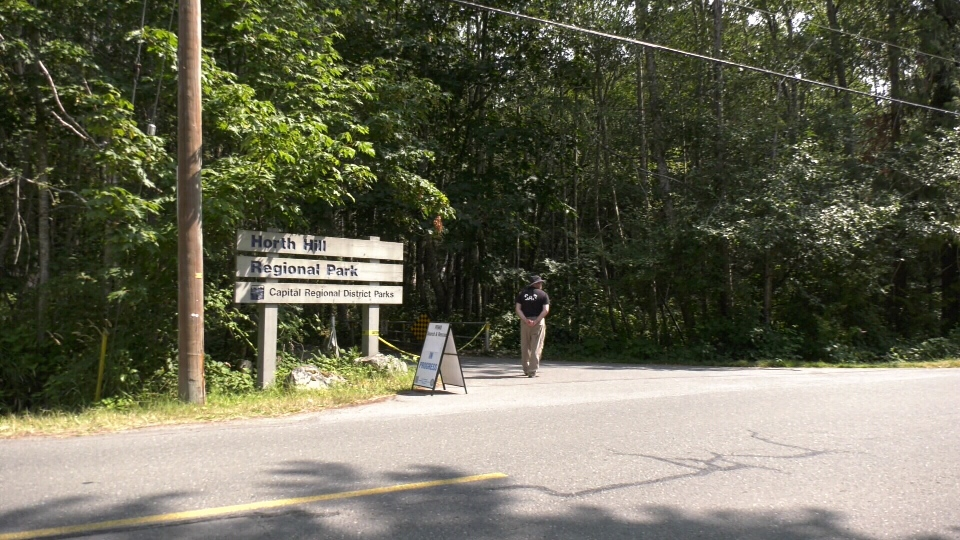Horth Hill Regional Park on Wednesday, July 31, 2019. (CTV Vancouver Island)