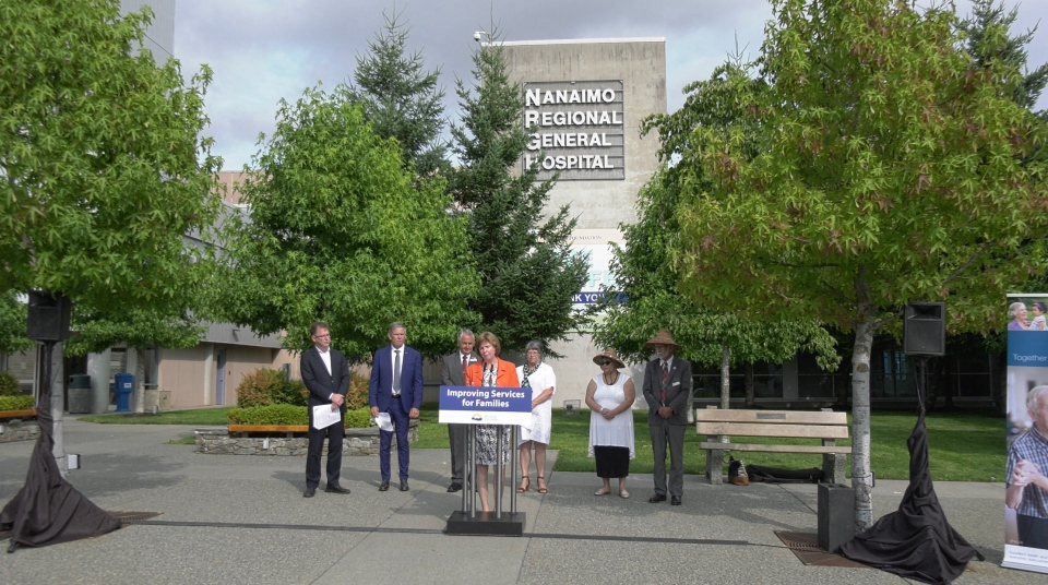B.C. Health Minister Adrian Dix joined other officials in announcing the investment Wednesday.