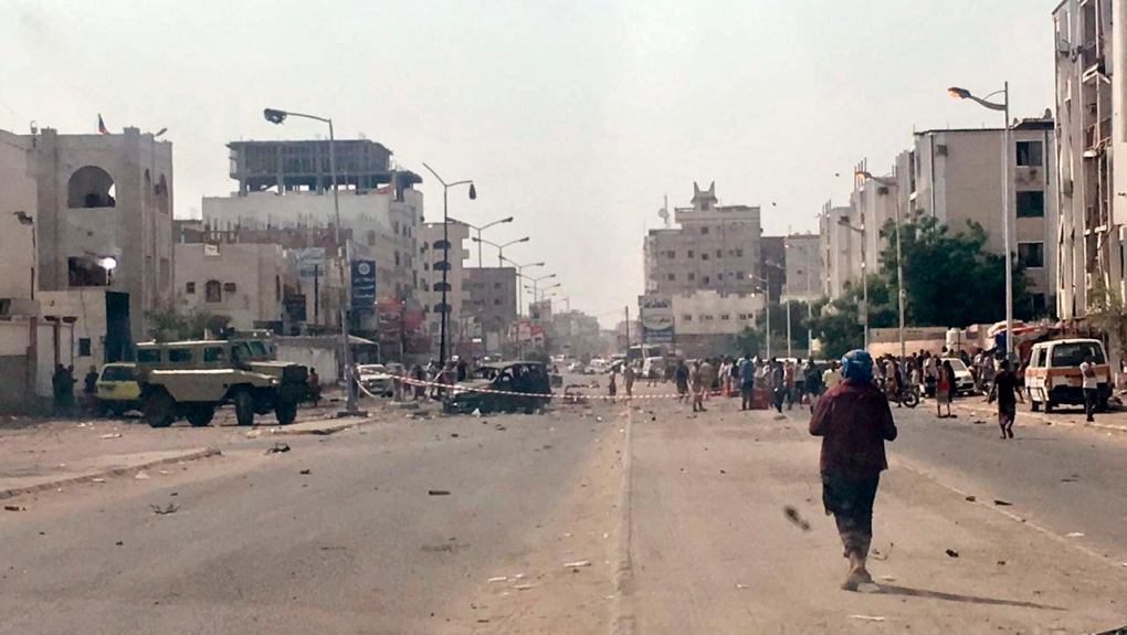 Missile attack, suicide bombings kill at least 40 in Yemen