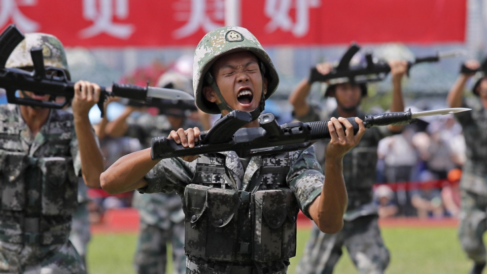 'Stop Charging Or We Use Force': China warns Hong Kong protesters with army video