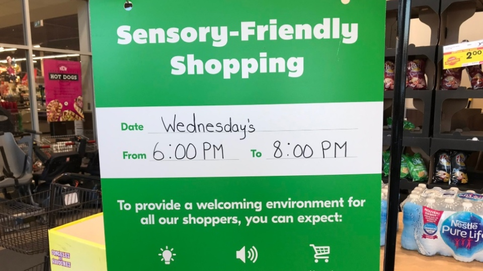 Sobeys to extend 'sensory-friendly' hours to different