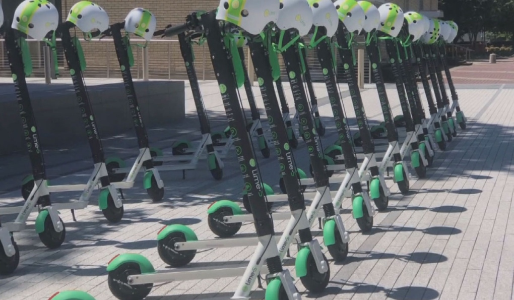 E-scooters set to hit Edmonton streets on Monday