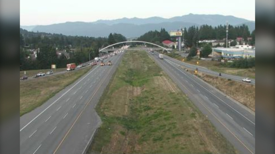 Pedestrian killed in Abbotsford collision along Hwy  1 | CTV