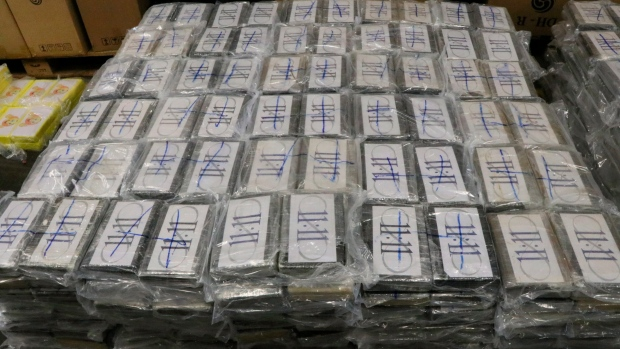 German customs seize 4.5 tons of cocaine, worth $1.1 billion