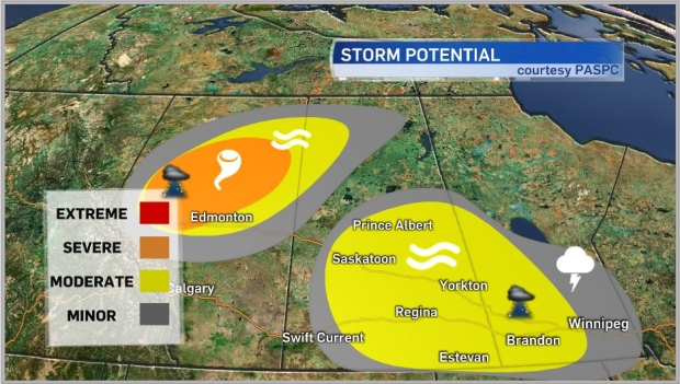 Aug 2 storm outlook