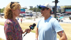 CTV Montreal: Osheaga's new digs