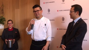 Chef Antonio Park speaks about the partnership with Air Canada. (Air Canada / Vimeo)