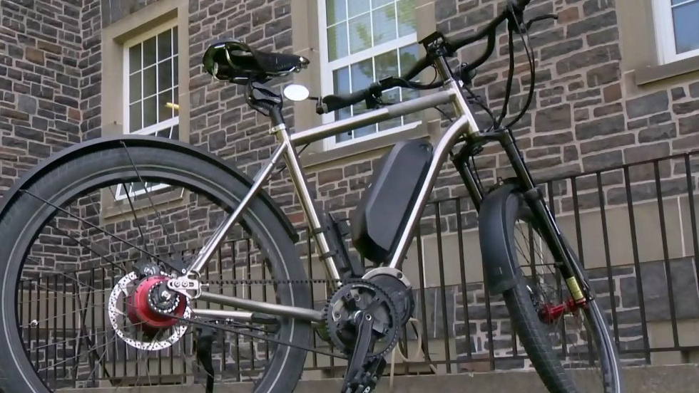 Researchers aim to break e-bike record