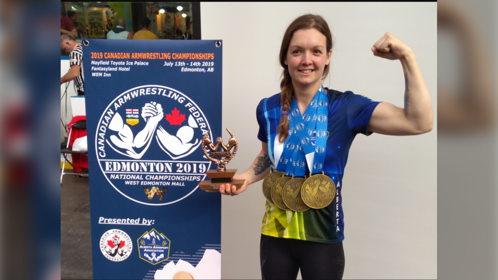 Pulling it together: Canadian armwrestling champ reaches for the top