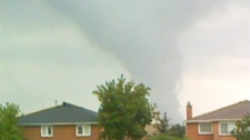 CTV viewers sent in spectacular footage of funnel clouds in the Vaughan, Ont. area on Thursday, Aug. 20, 2009.