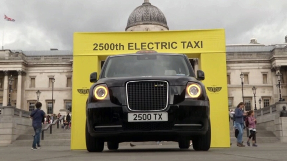 electric taxi london