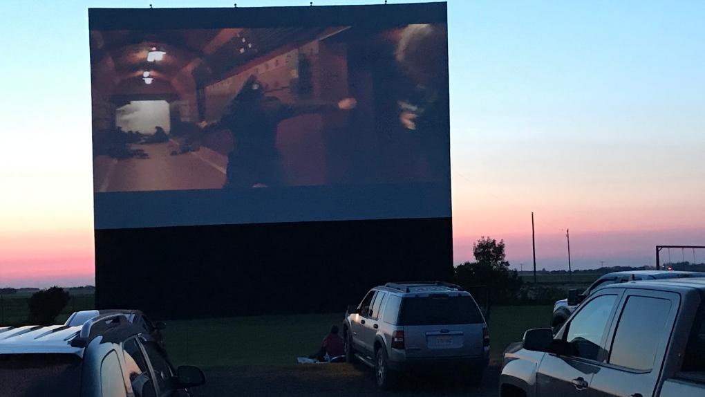 Drive in theatre