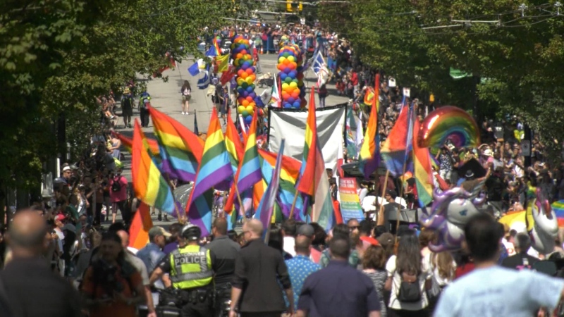 Thousands lined the streets for the 2019 Pride Parade.