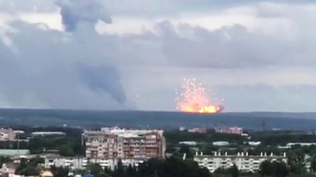 1 Killed 13 Injured By Blasts At Russian Military Depot Ctv News