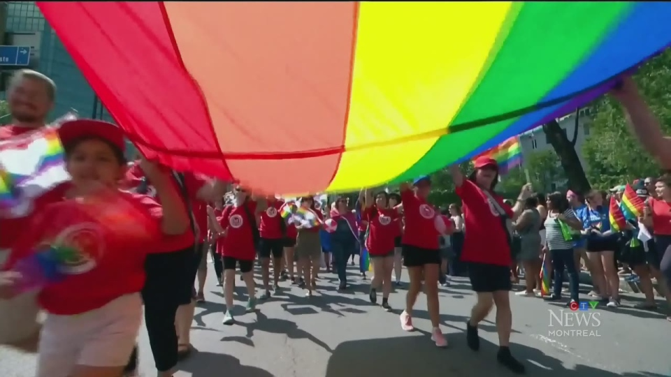 The Montreal Pride parade takes place Aug. 18, at 1 p.m.