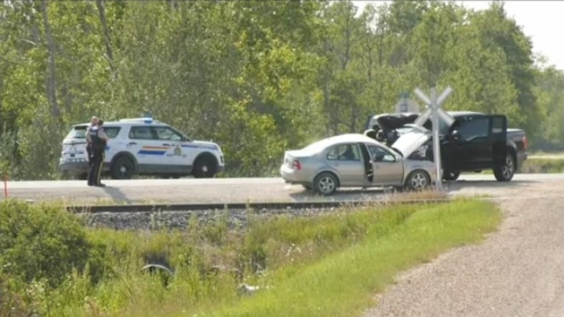 Report of serious injuries following crash on Hwy 9 north of Selkirk