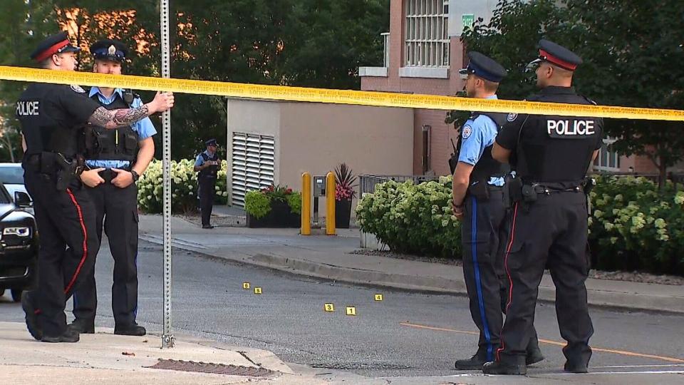 Police address string of long weekend shootings