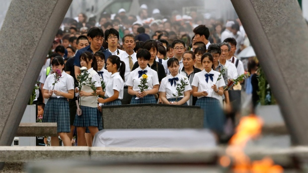 Hiroshima marks 74th anniversary of atomic bombing | CTV News