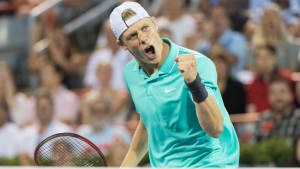 Denis Shapovalov, of Canada, advanced to the third round of the Winston-Salem Open with a 6-2, 6-4 win over American Tennys Sandgren on Tuesday. (FILE PHOTO/THE CANADIAN PRESS/Graham Hughes)