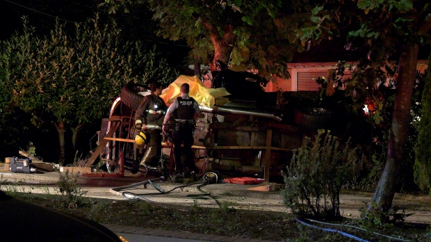 Accident In Surrey Today >> One Man Killed In High Speed Rollover Crash In Surrey Ctv News