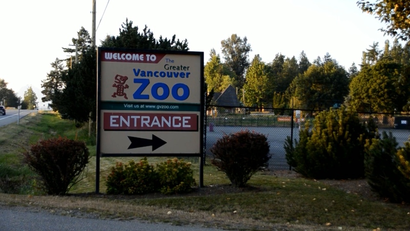Greater Vancouver Zoo.