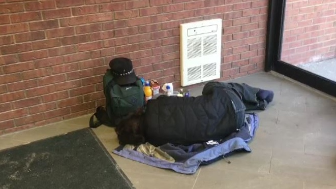 No quick solution to homeless camp in downtown St. Thomas