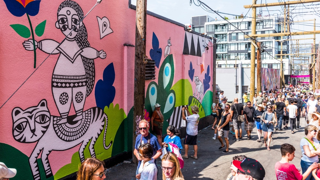 Annual mural festival takes over Vancouver community