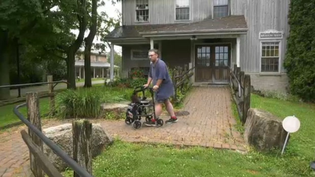 'They stole my independence': Burlington man stunned after medical scooter stolen
