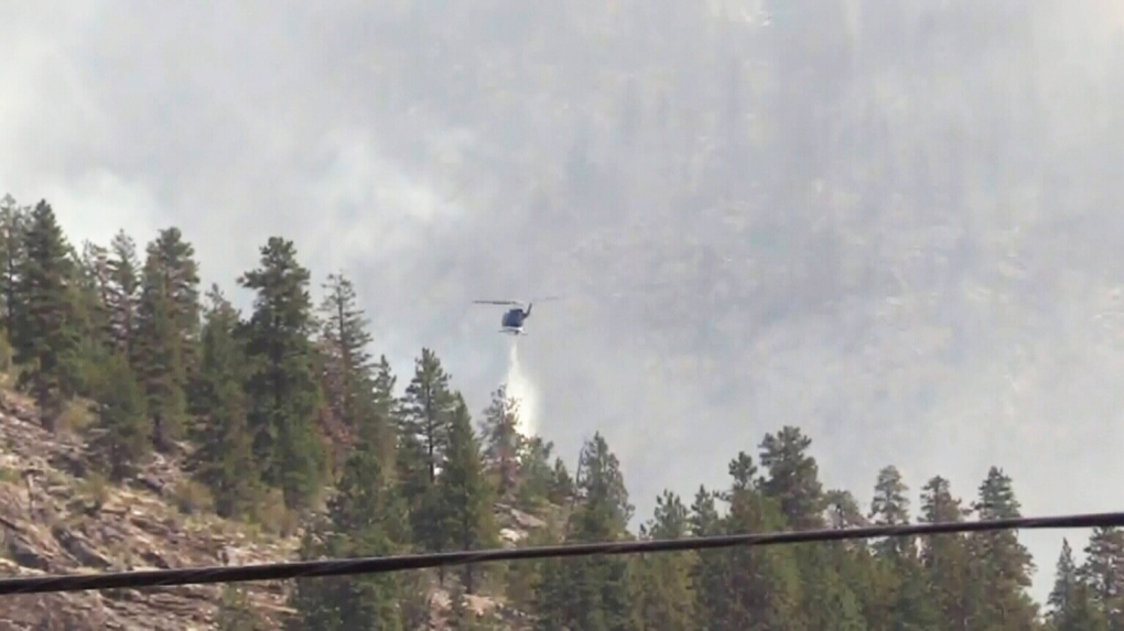 Eagle Bluff wildfire still out of control