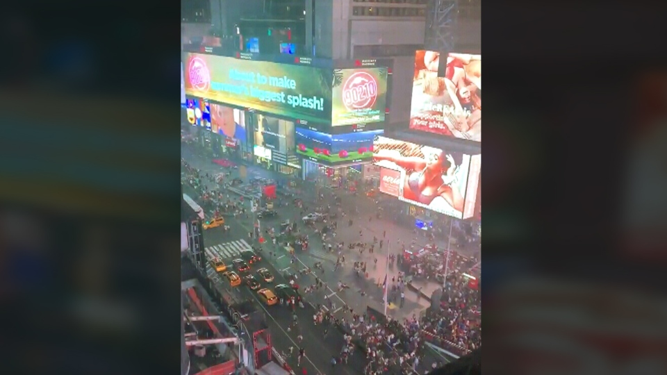 Panic in Times Square