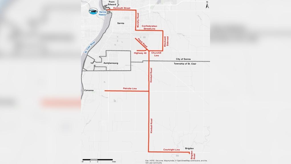 Sarnia-Lambton gets $6M to help keep oversized loads moving