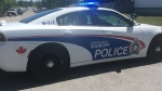 Sudbury police cruiser (Alana Everson/CTV Northern Ontario)