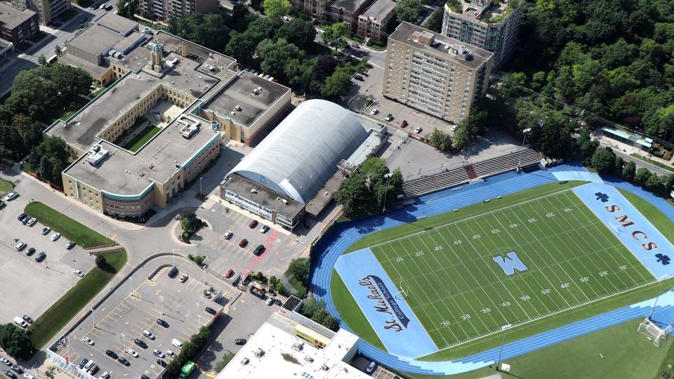 St. Michael's College School is seen. (CTV News Toronto Chopper)