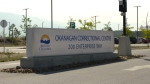 The sign for the Okanagan Correctional Centre in Oliver, B.C. is seen in this undated CTV News file image.