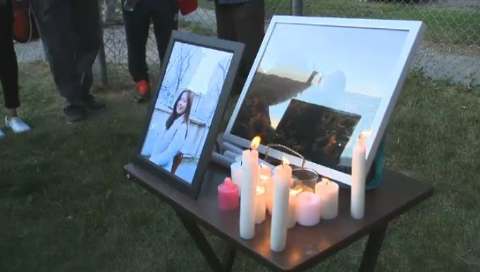 Vigil held for woman killed in West End collision