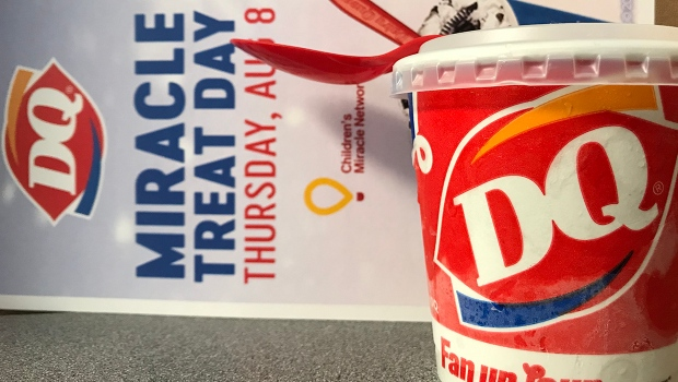 Miracle Treat Day Sees All DQ Blizzard Purchases Go to Janeway