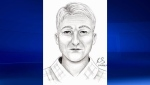 Lethbridge police are seeking information from the public to identify this man, believed to be a suspect in the alleged sexual assault of a young boy at Henderson Lake on June 1. (Supplied)