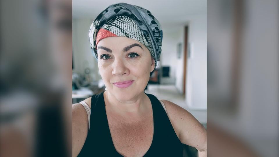 Twyla Campbell head scarf
