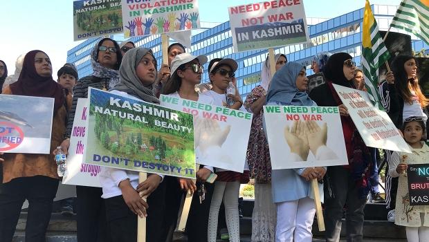 Kashmir, rally, Calgary